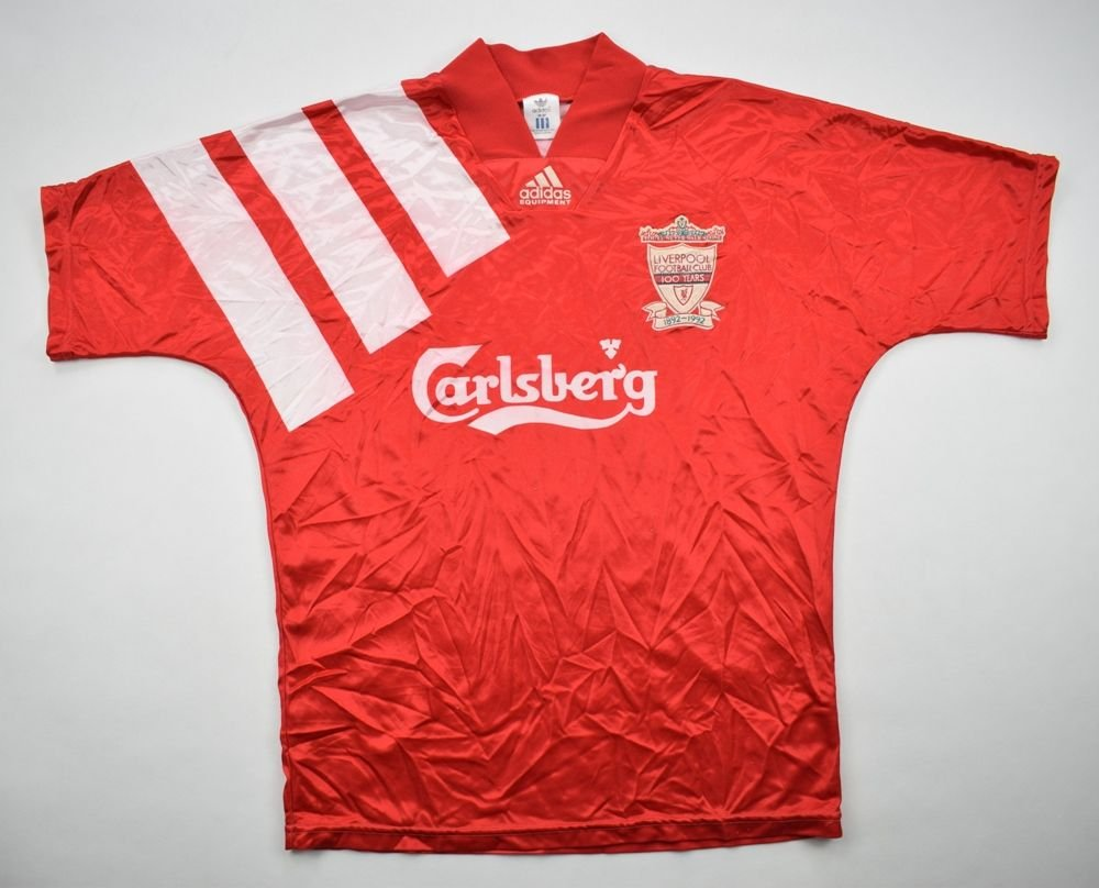 43b24d39eab 1992-93 LIVERPOOL SHIRT 36-38 Football   Soccer   Premier League ...