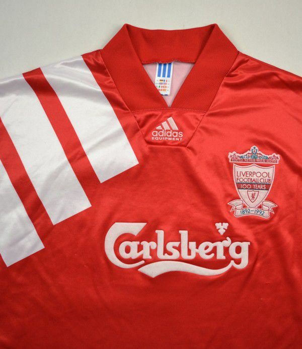 hot sales b1cd7 5973e 1992-93 LIVERPOOL SHIRT XL