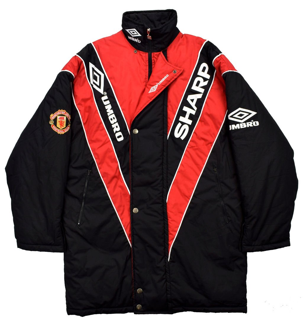 42100ce3ed 1992-93 MANCHESTER UNITED JACKET M Football / Soccer \ Premier League \ Manchester  United | Classic-Shirts.com