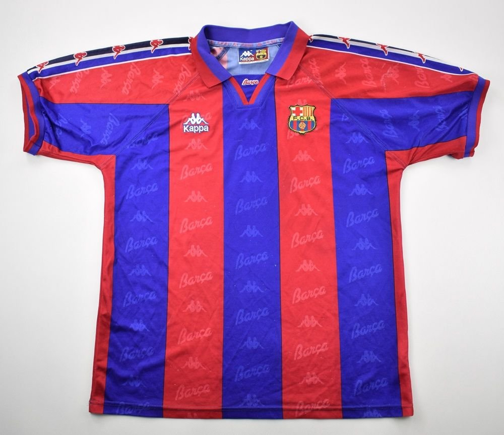 365c57d55 1992-95 FC BARCELONA SHIRT L Football   Soccer   European Clubs   Spanish  Clubs   FC Barcelona