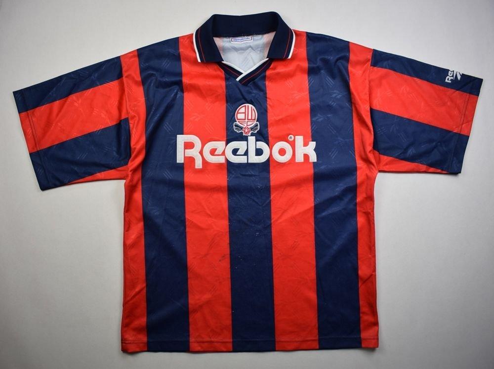 1993-95 BOLTON WANDERERS SHIRT L