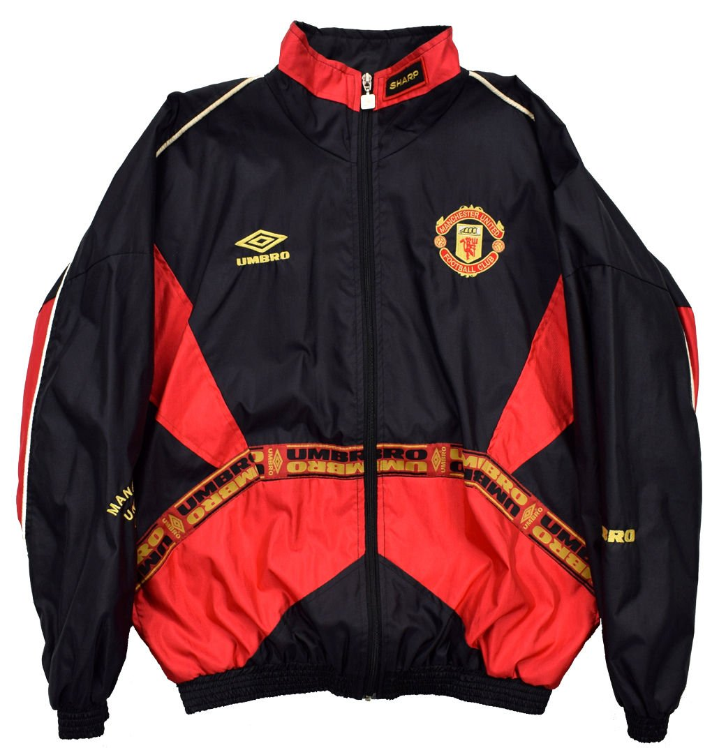 1993 95 Manchester United Jacket S Football Soccer Premier League Manchester United Classic Shirts Com