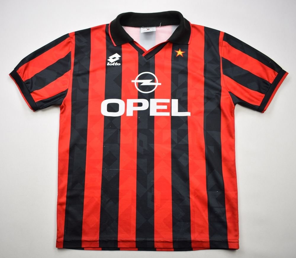 d3ed7d473 1994-95 ac milan shirt m football   soccer european clubs