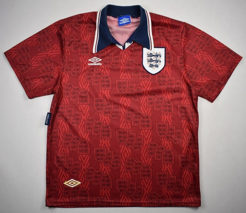6d3ad08ad 1994-95 ENGLAND SHIRT XL Football   Soccer   International Teams   Europe    England