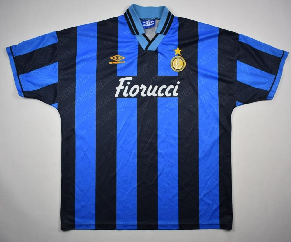 50261f2cb 1994-95 INTER MILAN SHIRT XL Football   Soccer   European Clubs   Italian  Clubs   Inter Milan
