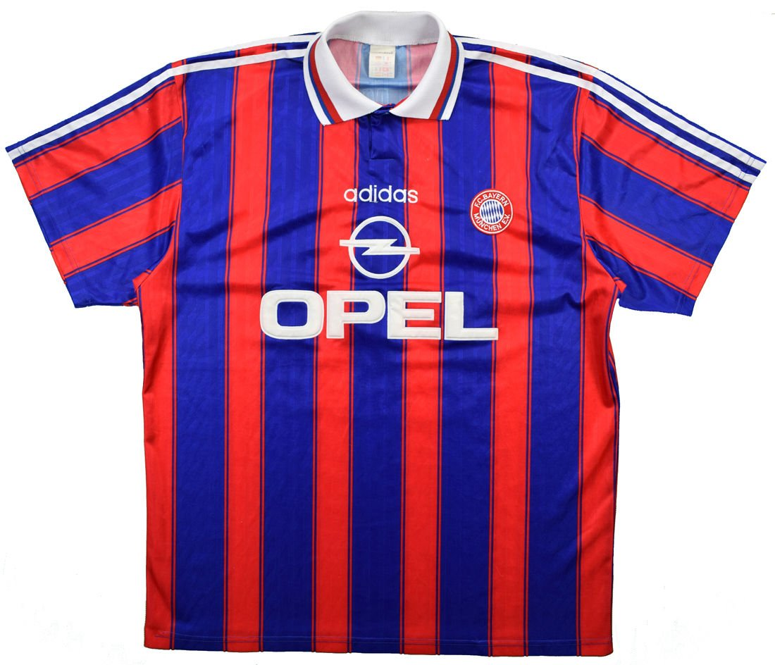 online store 4313e 0dec0 1995-97 BAYERN MUNICH SHIRT XL
