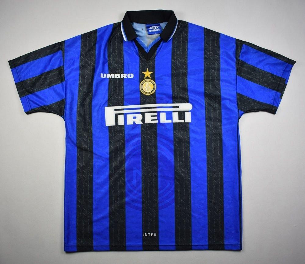 1996-97 INTER MILAN  RONALDO  SHIRT XL Football   Soccer   European Clubs    Italian Clubs   Inter Milan  8f9375734