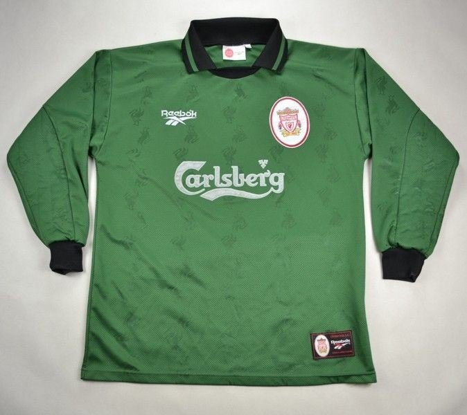 3ece637ba46 1996-97 LIVERPOOL GOALKEEPER SHIRT M Football / Soccer \ Premier League \  Liverpool | Classic-Shirts.com