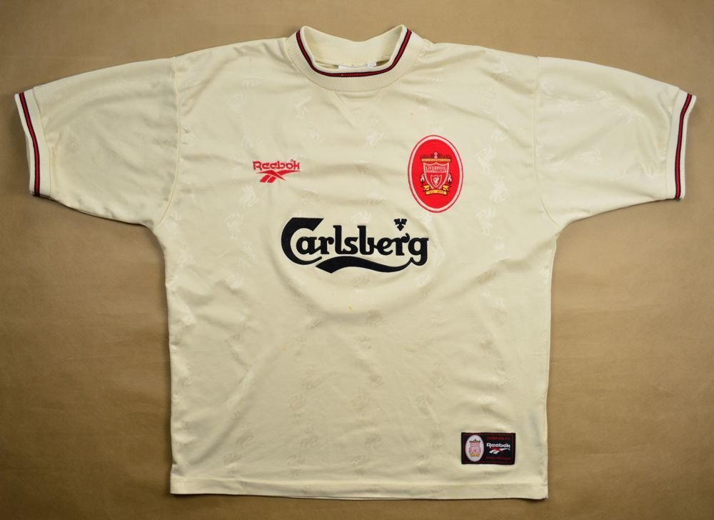 ca690f560 1996-97 LIVERPOOL  McATEER  SHIRT SIZE 42 44 Football   Soccer   Premier  League   Liverpool