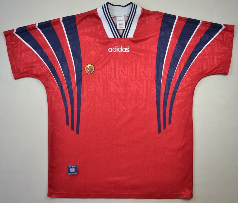 aea78f1bebd 1996-97 NORWAY SHIRT L Football / Soccer \ International Teams \ Europe \  Other European Teams | Classic-Shirts.com