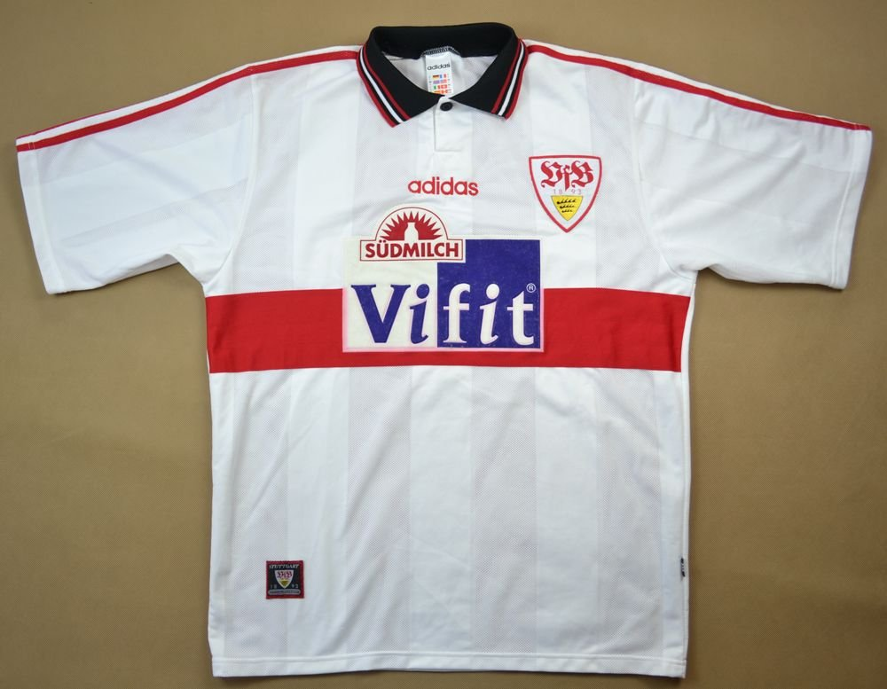 1996-97 VFB STUTTGART SHIRT L Football / Soccer \\ European ...