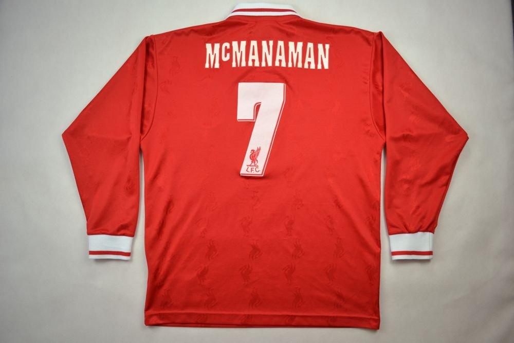 1c6beb4ab96 1996-98 LIVERPOOL  McMANAMAN  SHIRT 38 40 Football   Soccer   Premier  League   Liverpool