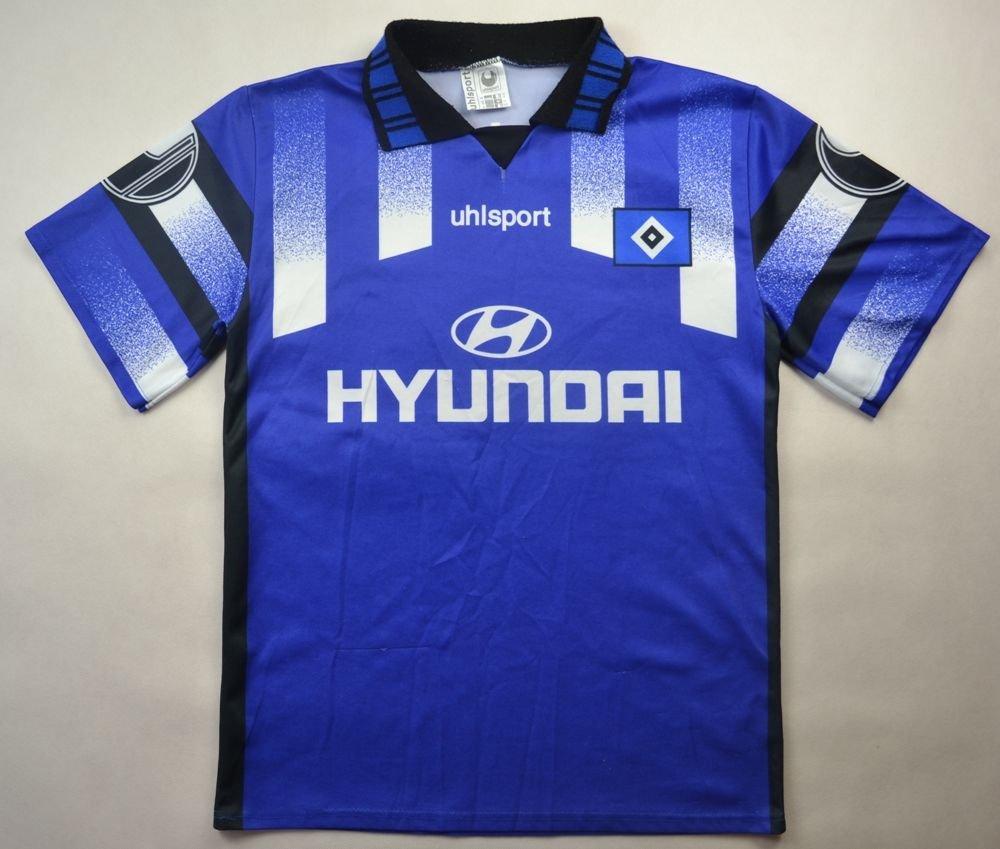 1996 Hsv Hamburg Shirt M Boys 162 Cm Football Soccer European Clubs German Clubs Other German Clubs Classic Shirts Com