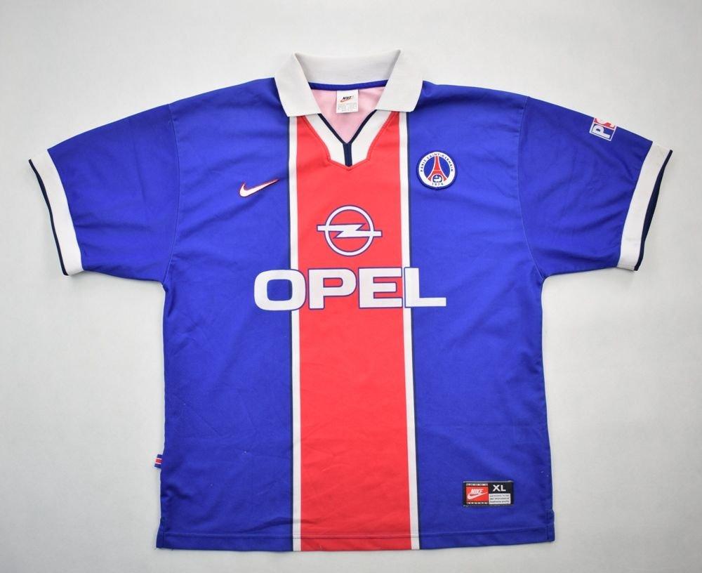 e0ff51447 1997-98 PARIS SAINT GERMAIN SHIRT XL Football   Soccer   European Clubs    French Clubs   PSG