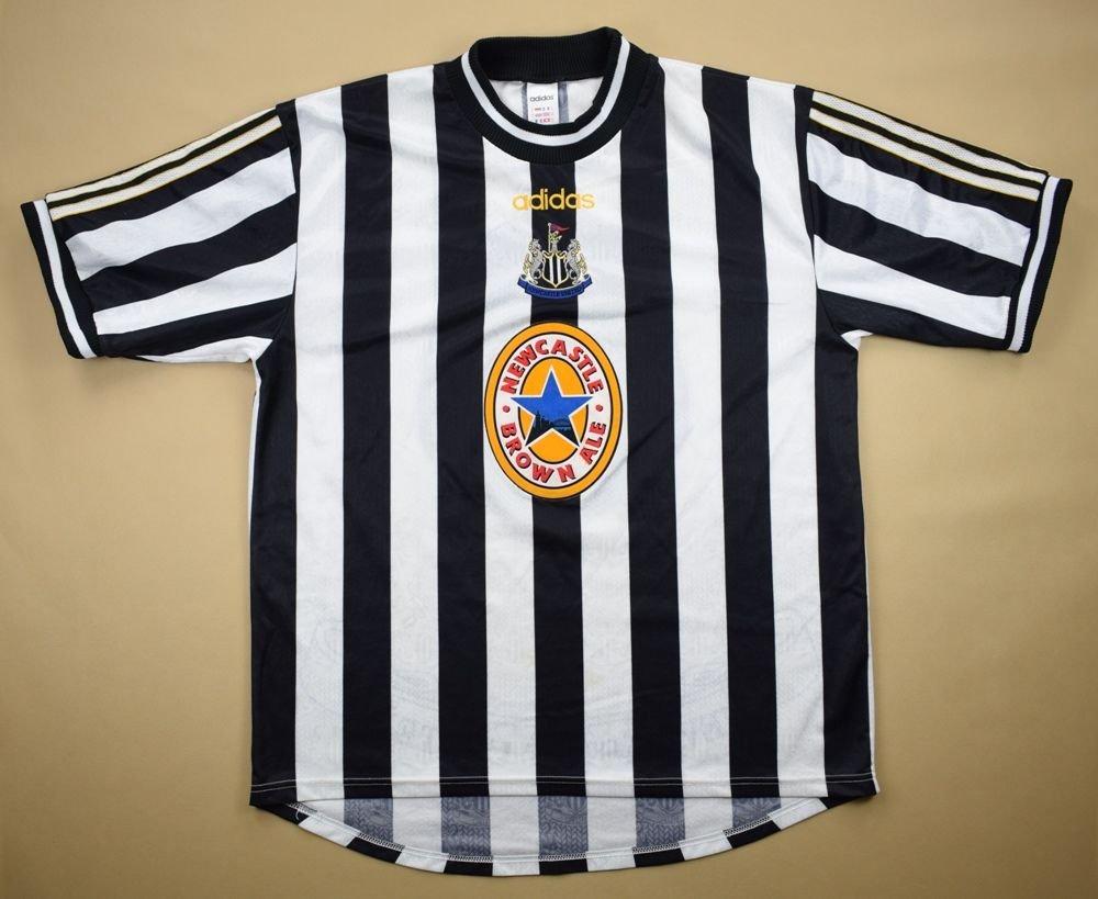 1997-99 NEWCASTLE UNITED SHIRT XL Football   Soccer   Premier League   Newcastle  United  7a585d95c