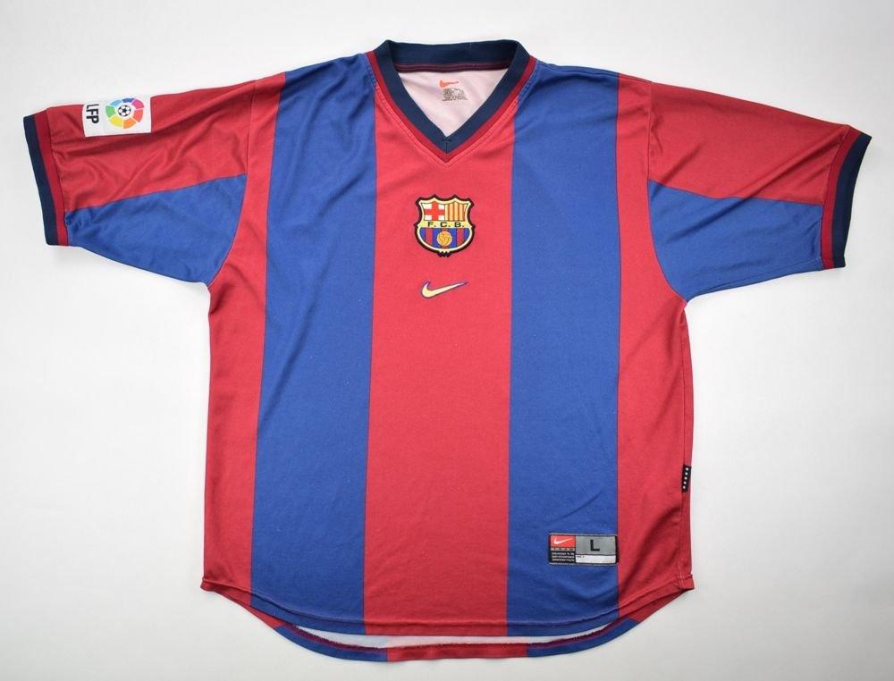 new arrivals 8fe2f 0cf90 1998-00 FC BARCELONA SHIRT L
