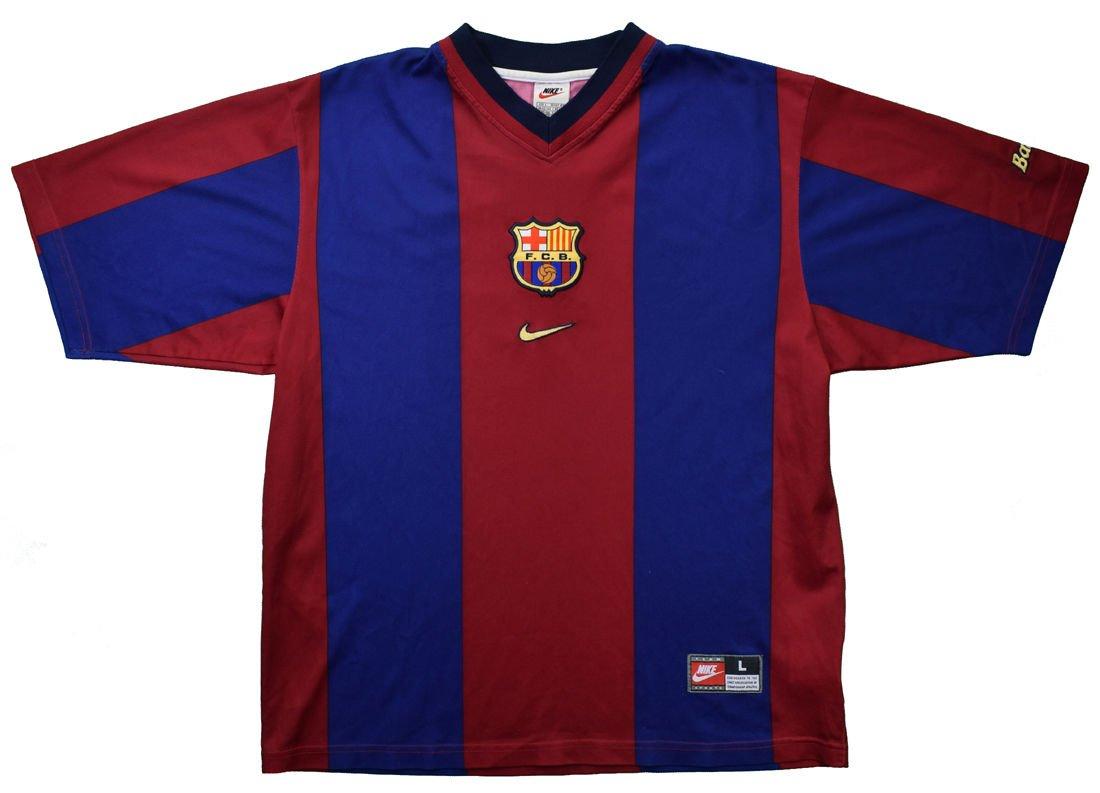 1998 00 fc barcelona shirt l football soccer european clubs spanish clubs fc barcelona classic shirts com 1998 00 fc barcelona shirt l