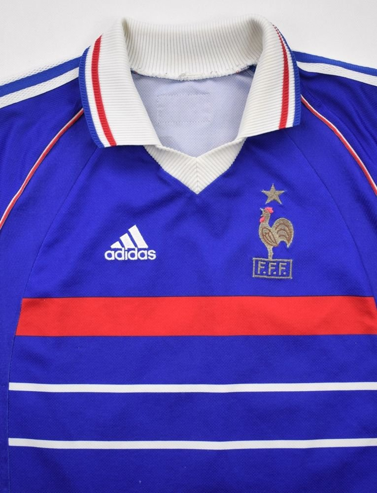 1998 00 France Zidane Shirt M Football Soccer International Teams Europe France Classic Shirts Com
