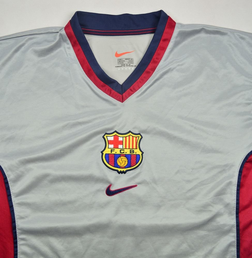online retailer 55fd2 ec471 1998-01 FC BARCELONA SHIRT L