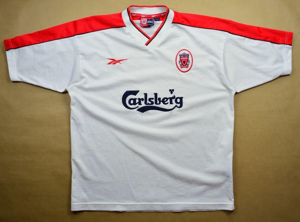 d20110a40 1998-99 LIVERPOOL SHIRT SIZE 42 44 Football   Soccer   Premier ...
