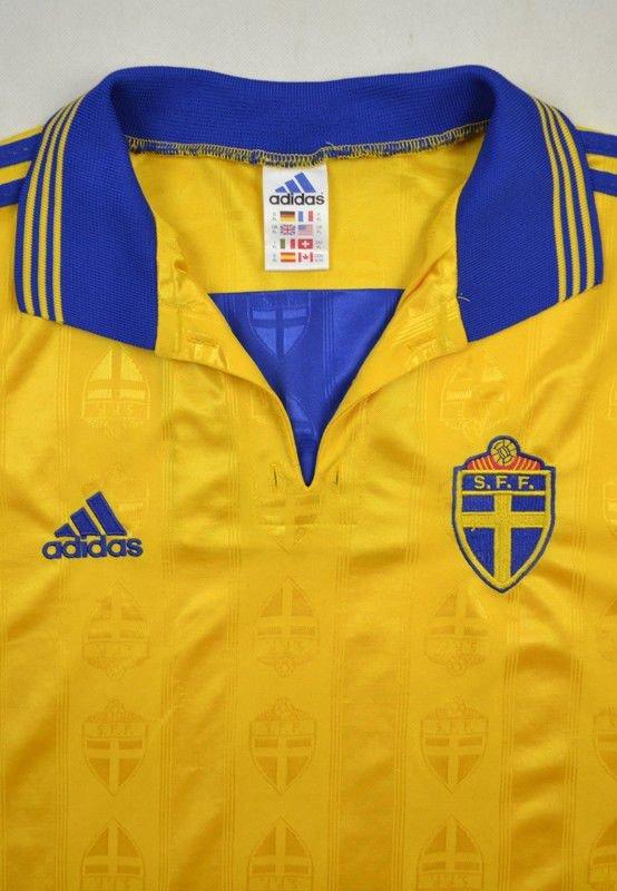 1998 99 Sweden Shirt Xl Football Soccer International Teams