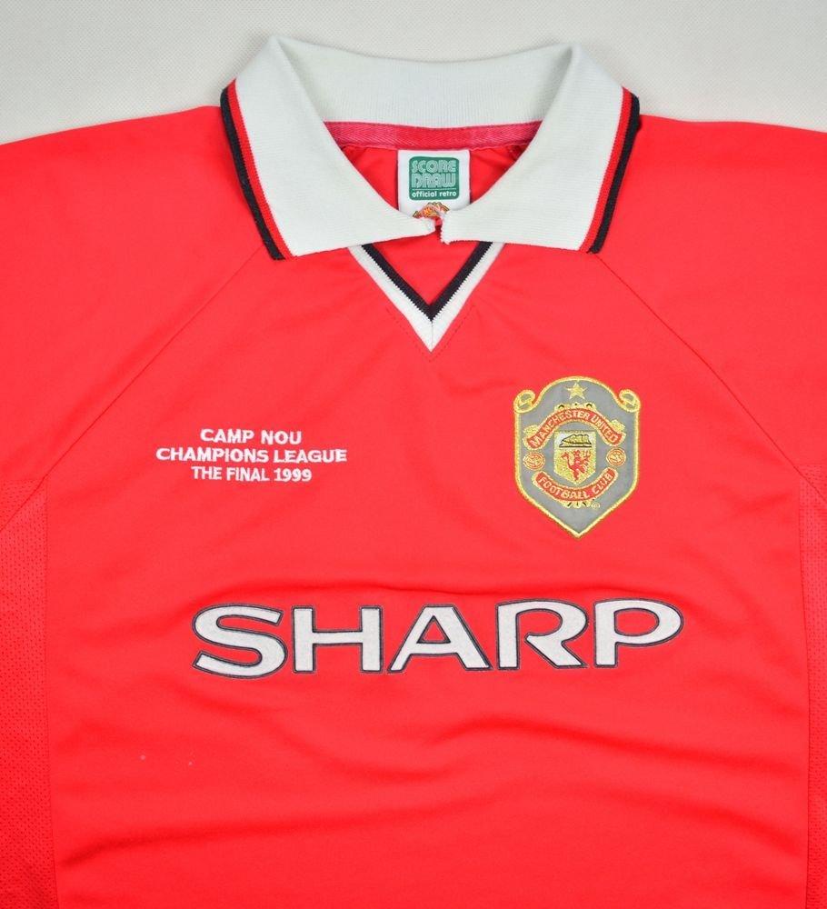 1999 00 Manchester United Shirt Xl