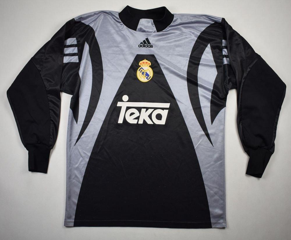 save off 3df42 75fe6 1999-00 REAL MADRID GK LONGSLEEVE SHIRT M