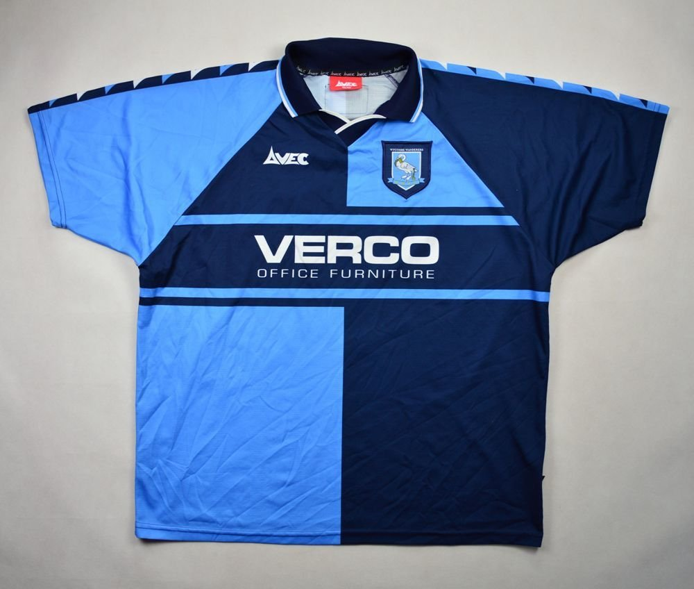 1999-00 WYCOMBE WANDERS SHIRT SIZE 46/48 Football / Soccer