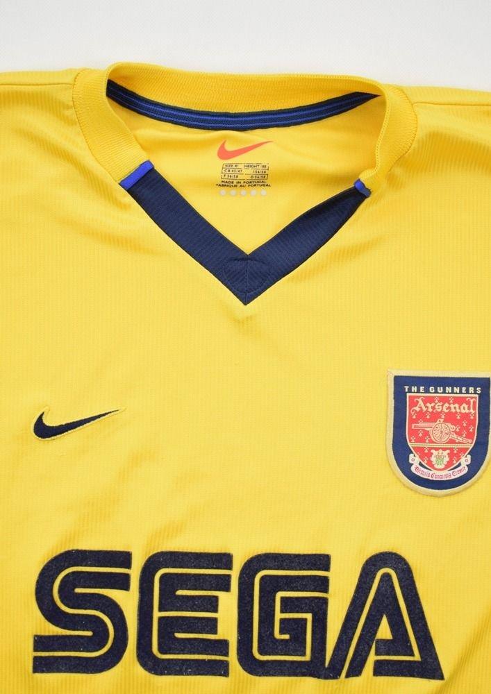 1999-01 ARSENAL LONDON SHIRT XL Football   Soccer   Premier League ... 99d1668cd