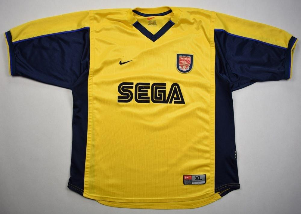 san francisco fadf4 5a739 1999-01 ARSENAL LONDON *VIERA* SHIRT XL