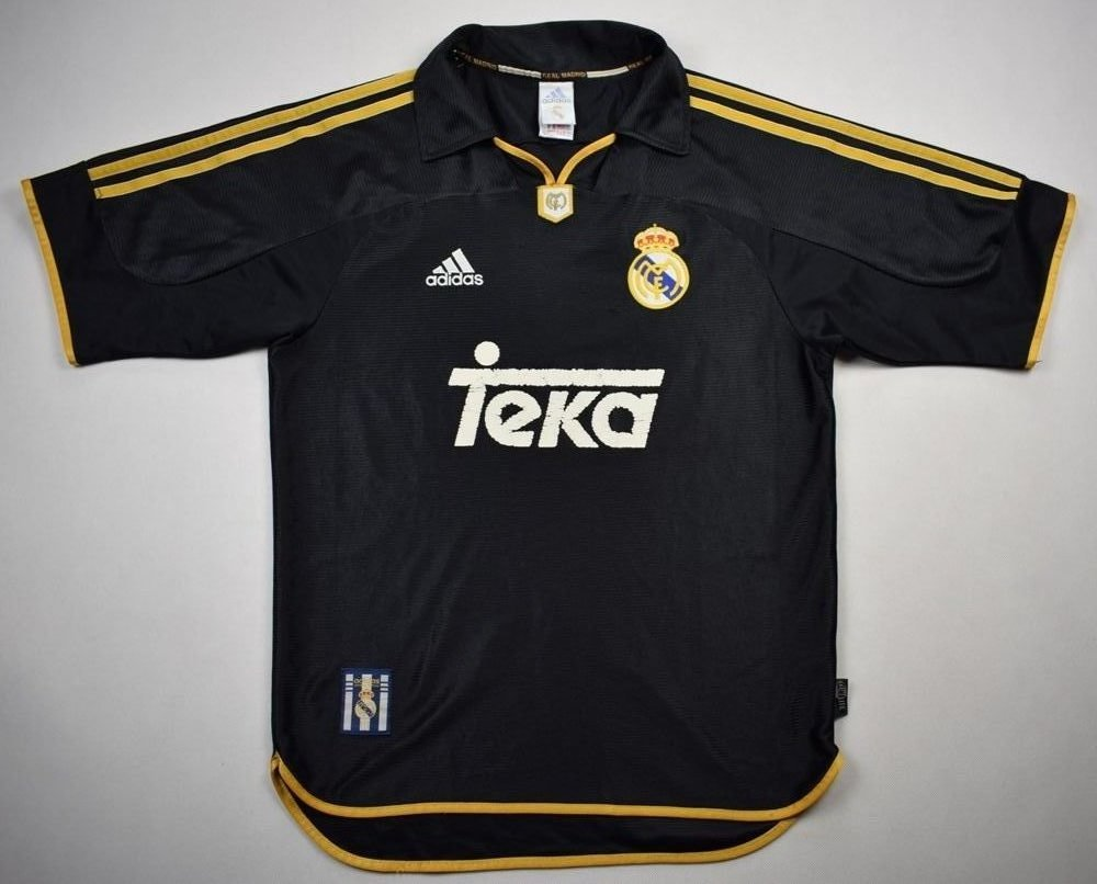 sale retailer 5232e aed7a 1999-01 REAL MADRID SHIRT S
