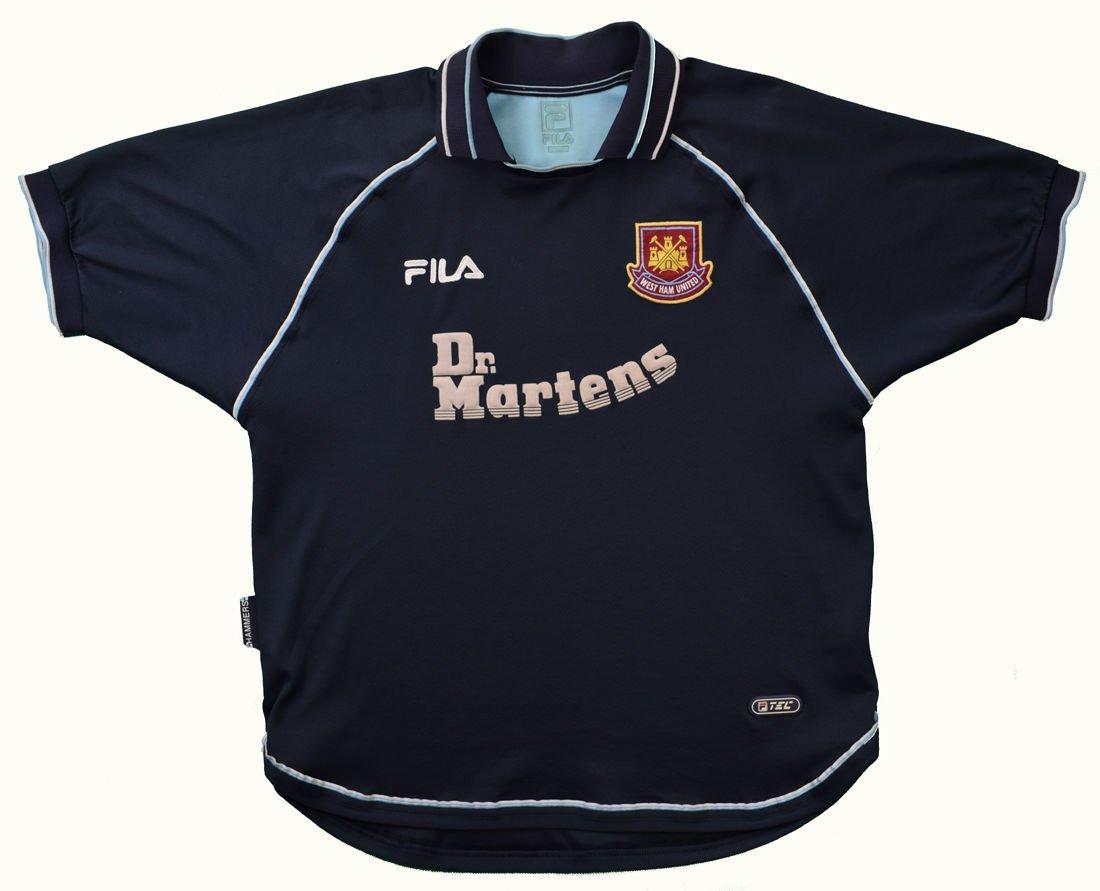 1999-01 WEST HAM UNITED SHIRT XL Football / Soccer ...