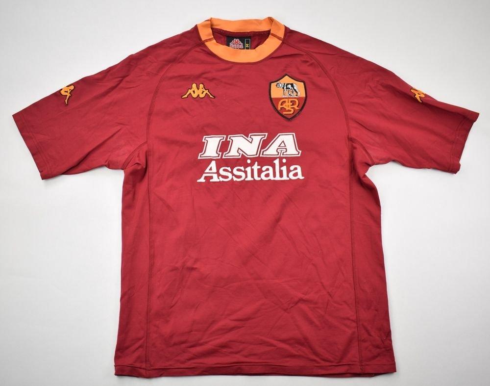 b462ca850e1 2000-01 AS ROMA SHIRT M Football / Soccer \ European Clubs \ Italian Clubs  \ AS Roma   Classic-Shirts.com