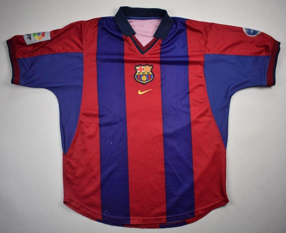 693aae28cf9 2000-01 FC BARCELONA SHIRT L Football / Soccer \ European Clubs \ Spanish  Clubs \ FC Barcelona   Classic-Shirts.com