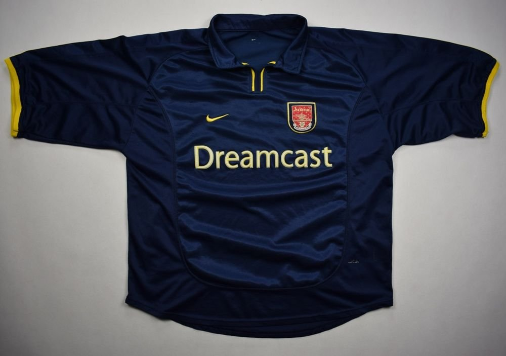 8b4807f6d7e 2000-02 ARSENAL LONDON SHIRT L Football   Soccer   Premier League ...