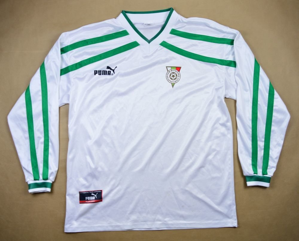 6d98bd43a 2000-02 BULGARIA LONGSLEEVE SHIRT XL Football / Soccer ...
