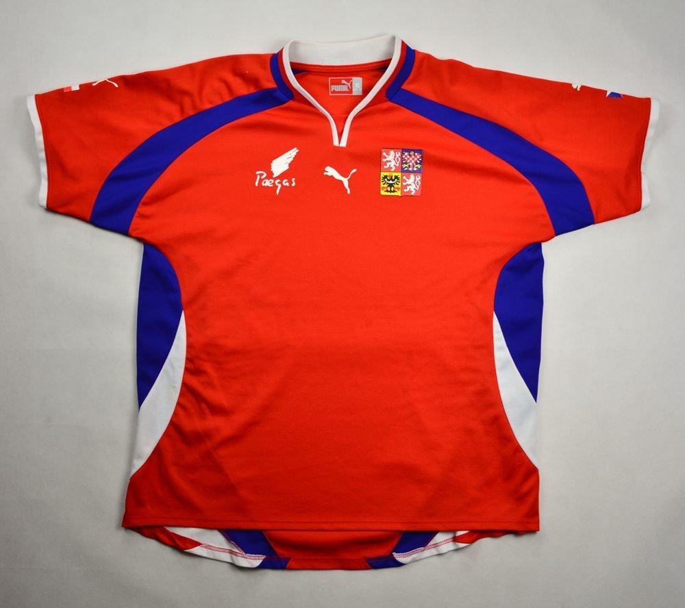 bd98f0c64df 2000-02 CZECH REPUBLIC SHIRT XL Football   Soccer   International Teams    Europe   Czech Republic
