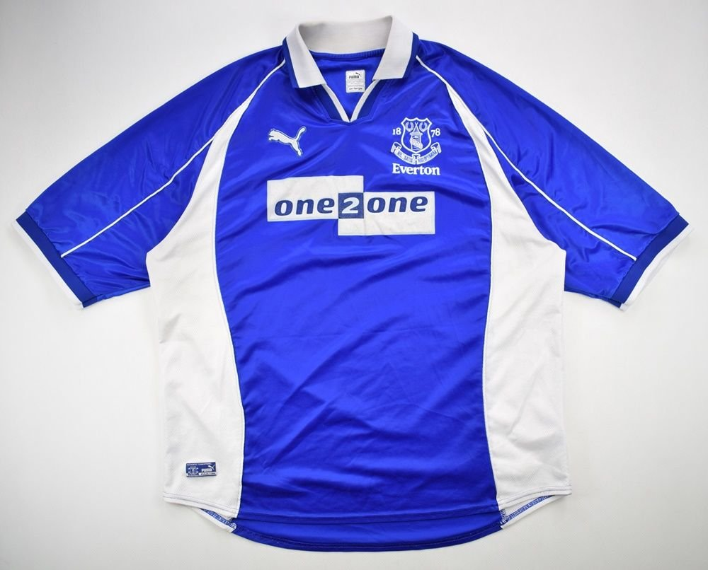 low priced 8ddc8 dcee1 2000-02 EVERTON SHIRT XXL