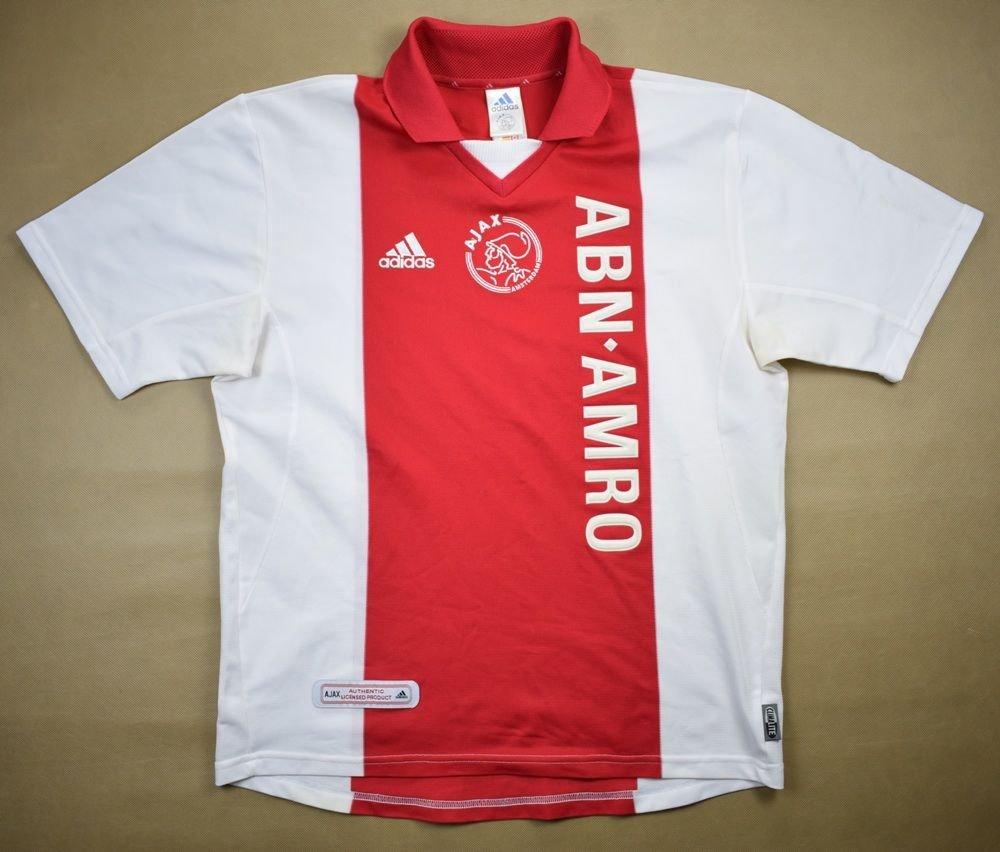 cf4abc8f628 2001-02 AJAX AMSTERDAM SHIRT M Football / Soccer \ European Clubs \ Dutch  Clubs \ Ajax Amsterdam | Classic-Shirts.com
