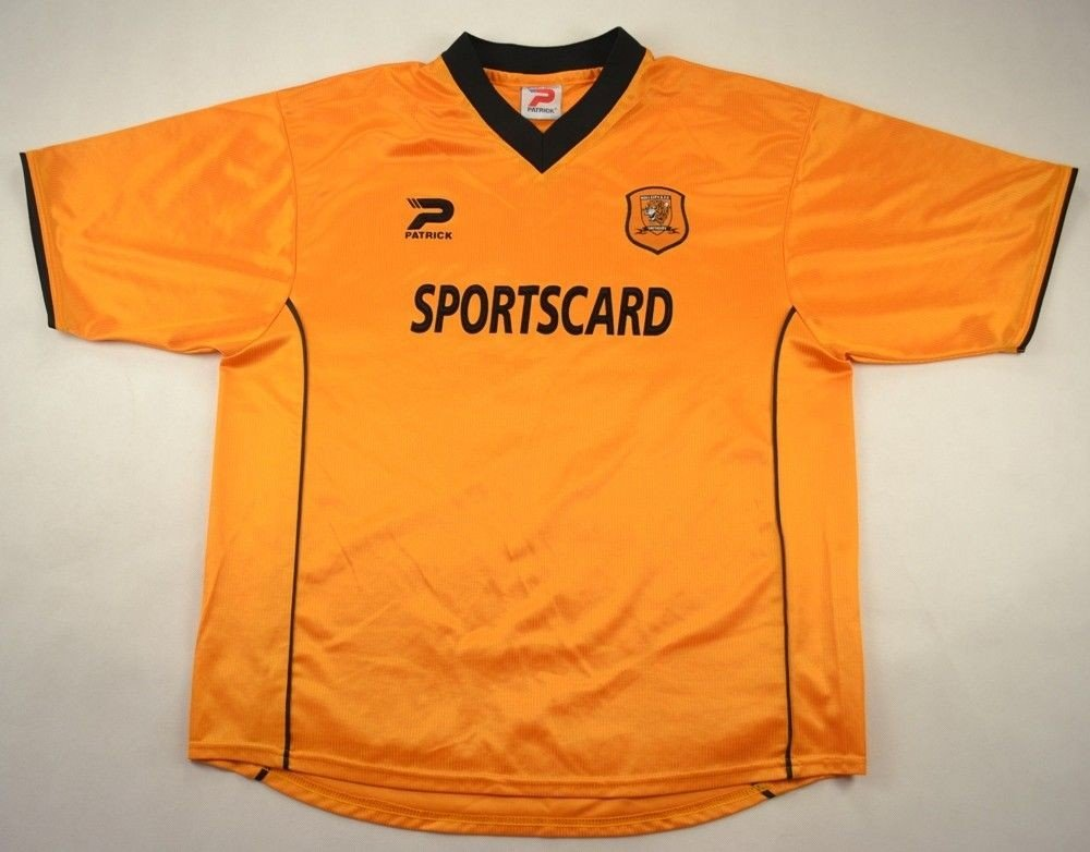 2001-02 HULL CITY SHIRT L Football   Soccer   Championship   Hull ... 4233530e9