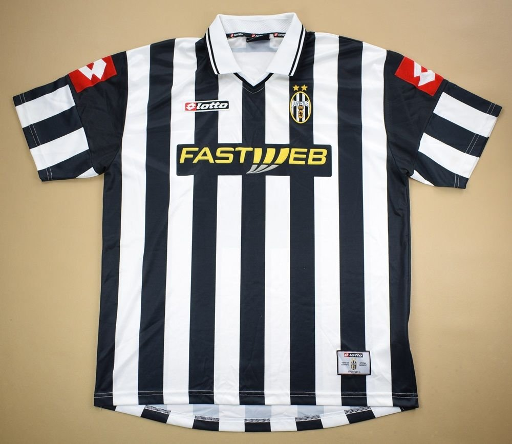 official photos 35856 a4778 2001-02 JUVENTUS SHIRT 2XL