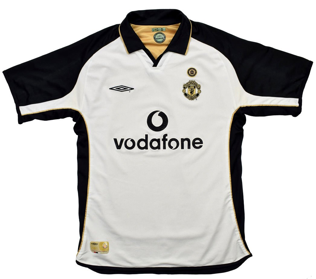 c2e1c08d9 2001-02 MANCHESTER UNITED SHIRT XL Football / Soccer \ Premier League \ Manchester  United | Classic-Shirts.com
