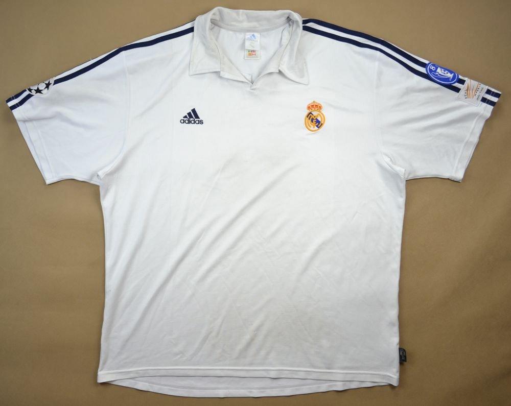 the latest 6e3ad 771a6 2001-02 REAL MADRID SHIRT 2XL