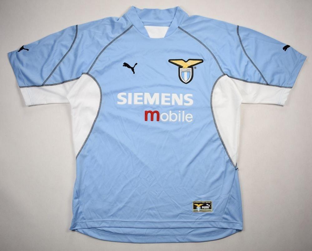 2001 02 Ss Lazio Shirt Xl Football Soccer European Clubs Italian Clubs Lazio Classic Shirts Com