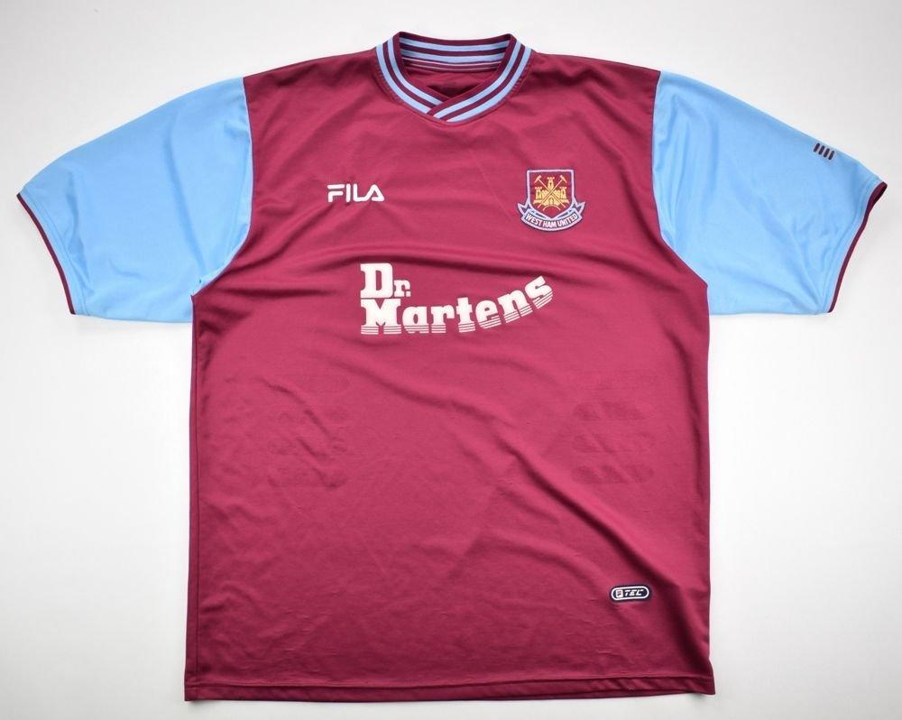 2001-03 WEST HAM UNITED SHIRT XL Football   Soccer   Premier League   West  Ham United  6cf95b10b
