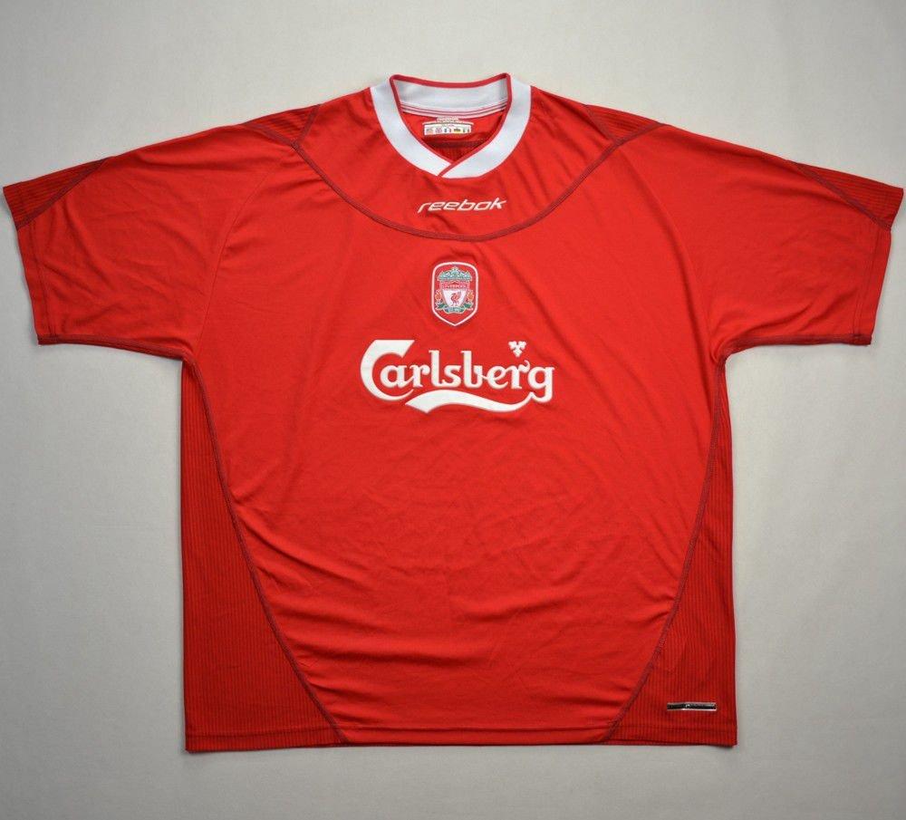 4e8bf0451 2002-04 LIVERPOOL SHIRT XXL Football   Soccer   Premier League   Liverpool
