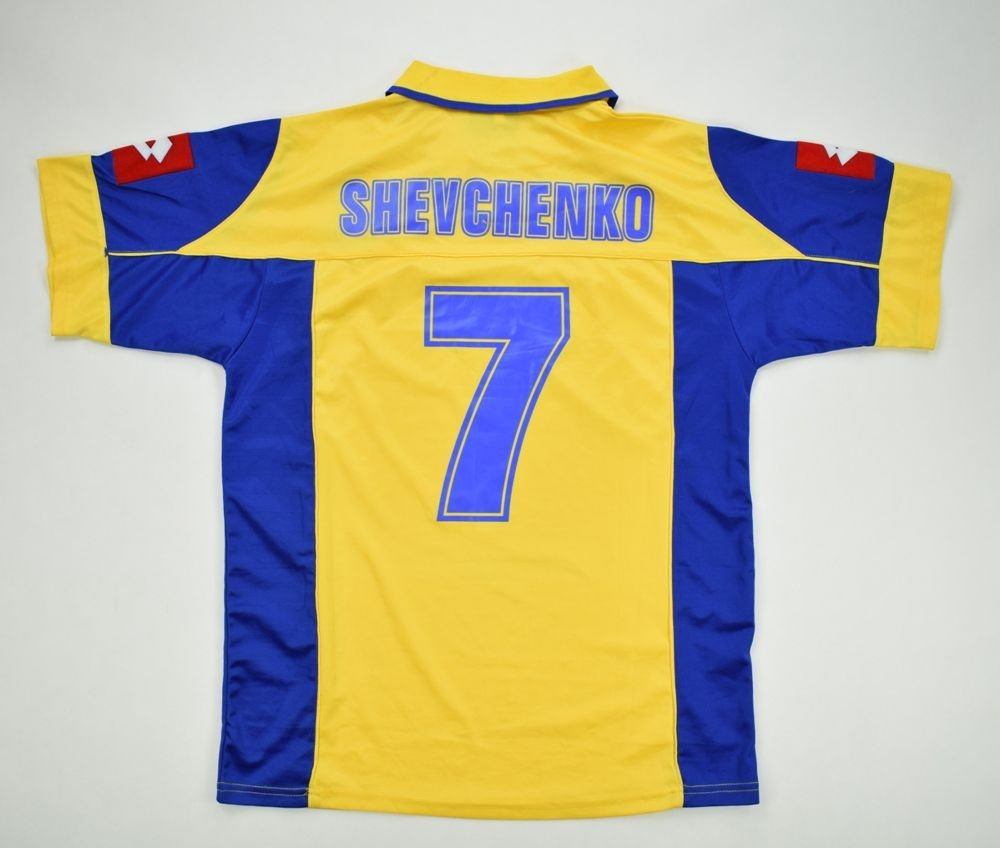 2002-04 UKRAINE  SHEVCHENKO  SHIRT S Football   Soccer   International Teams    Europe   Other European Teams  7e9a4bcc5