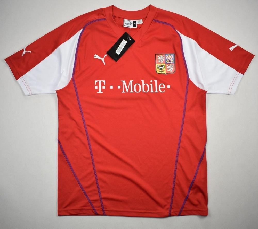 c53c884ade6 2003-04 CZECH REPUBLIC SHIRT XL Football   Soccer   International ...