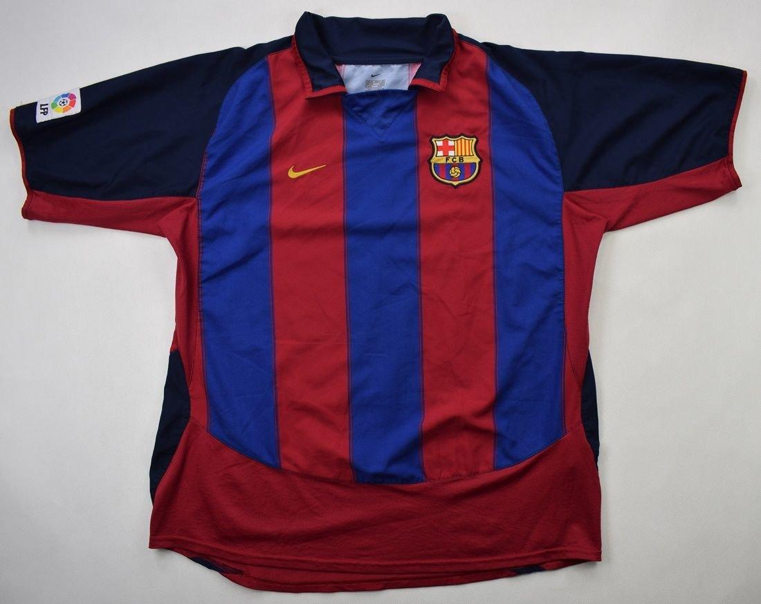 2003 04 fc barcelona shirt xl football soccer european clubs spanish clubs fc barcelona classic shirts com 2003 04 fc barcelona shirt xl