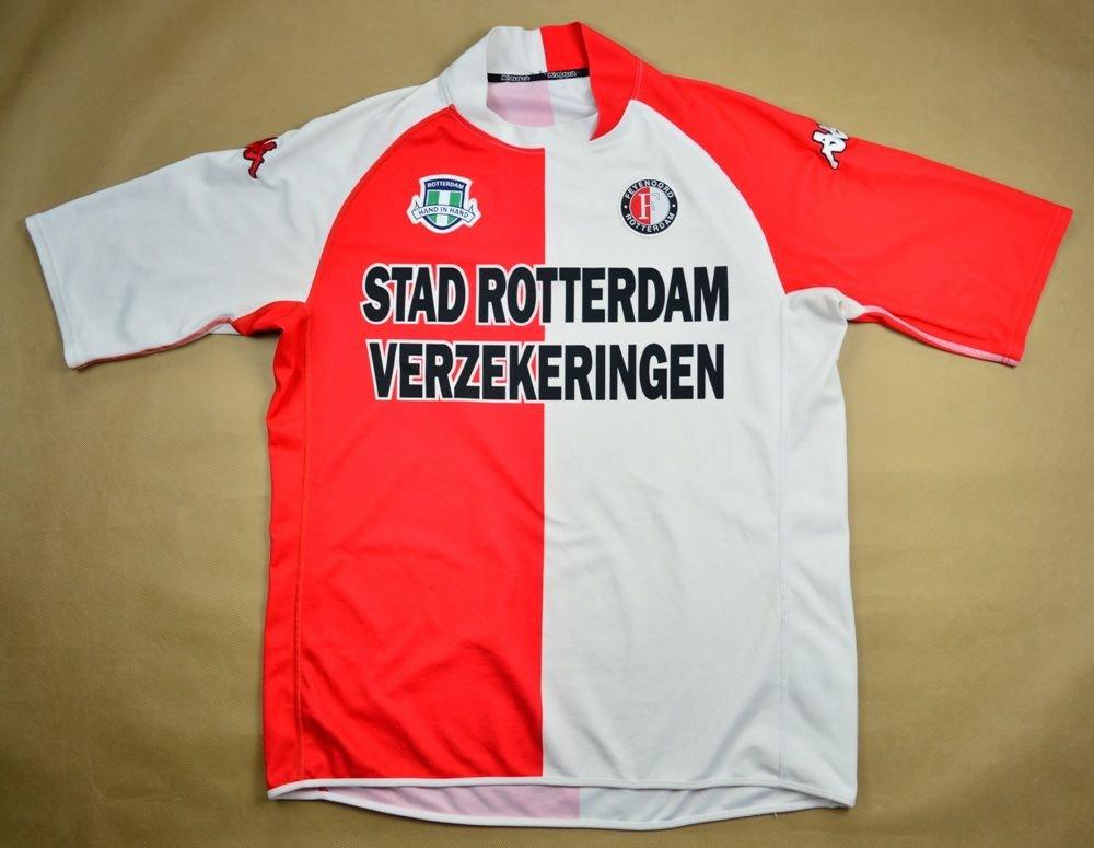 2003 04 Feyenoord Shirt L Football Soccer European Clubs Dutch Clubs Feyenord Classic Shirts Com